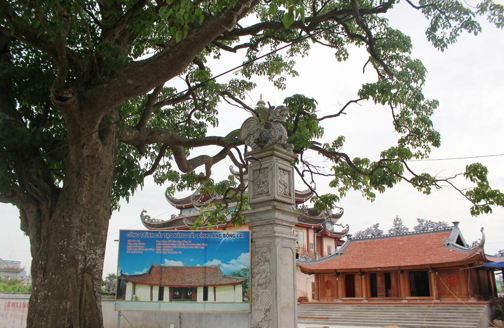 Kết quả hình ảnh cho Đình làng Bồng Lai